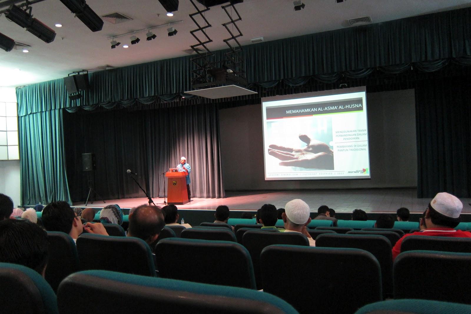 Rakaman Seminar Pembangunan Karakter Berteraskan Surah Luqman