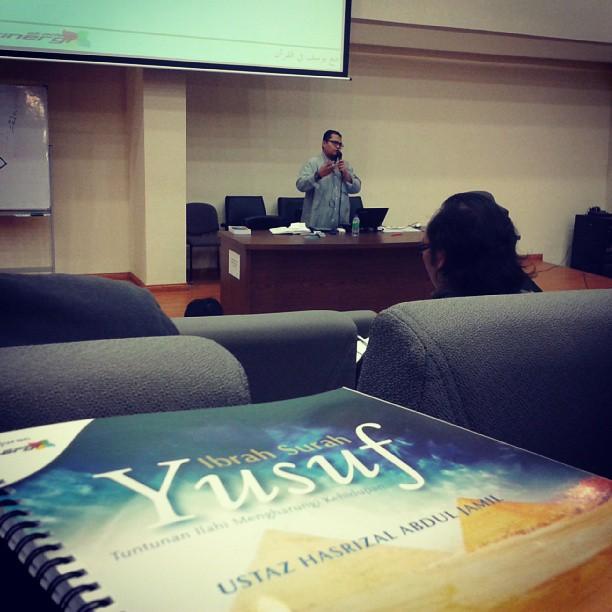 Rakaman Seminar Ibrah Surah Yusuf